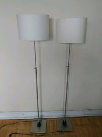 two white wooden side tables Mississauga