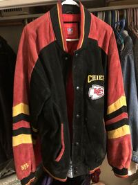 Chiefs soft leather jacket