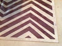 Rug tan and brown thin 7 1/2 by 10 Millstone Township, 08510