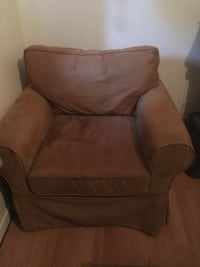brown suede armchair Stockton, 95210