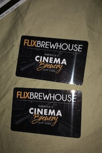 50$ flix brewhouse gift Cards