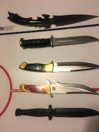 Collector Knives New in Box
