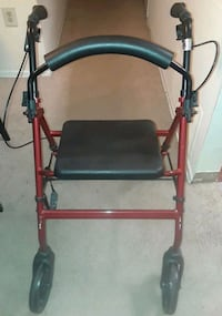 4 Wheel Rollator Walker with seat  Suitland-Silver Hill, 20746