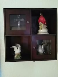 Just the shelf if you want the doves it would be