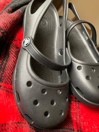 pair of black Crocs rubber clogs Hagerstown, 21740