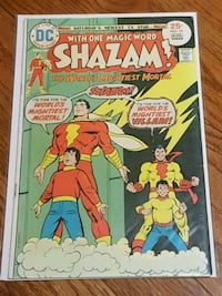 SHAZAM! DC comic book