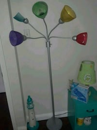 Multiple colored shade floor lamp Pacific, 63069