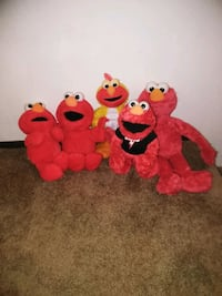 Five Animated Tickle Me Elmo Lot Citrus Heights, 95610