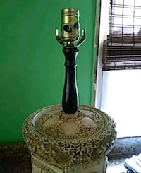 black table lamp base
