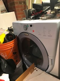 white front-load clothes washer Mississauga, L5J 1W8