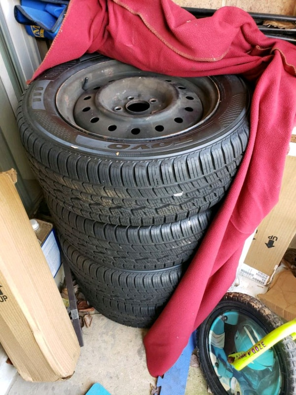 Brand New Winter Tires and Rims