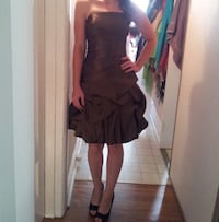 Olive Green Party Dress Mississauga, L5C 2R9