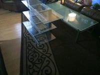 SET OF 2-GLASS TABLES Miami, 33176