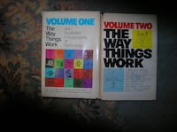 Two Volumes of The Way Things Work Springfield