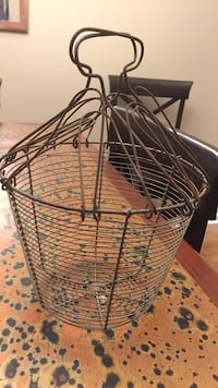 1930's Egg Basket from Italy  Woodhaven, 48183