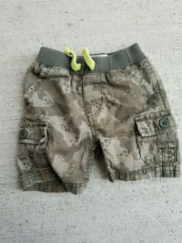 levis baby shorts