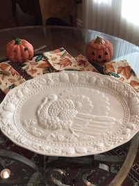 Vintage Turkey Platter Town and Country, 63131