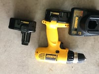 yellow and black DeWalt cordless power drill Edmonton