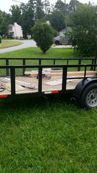 black and brown utility trailer Riverdale, 30296