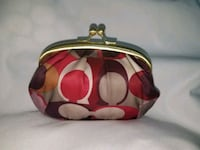 Authetic coach coin purse Puyallup, 98372
