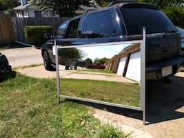Double Sided Mirror **Remodeling on a budget? **