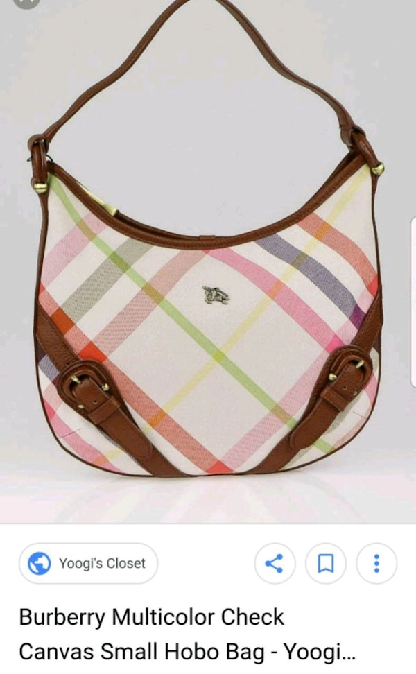 58cc007757cf Used Burberry Canvas for sale in Grandview