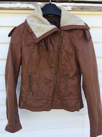 Brown Leather Jacket Calgary, T1Y 2W8