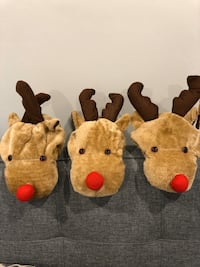 Three Christmas Deer hats
