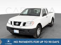2019 Nissan Frontier King Cab pickup S Pickup 2D 6 ft White <br Jeffersontown