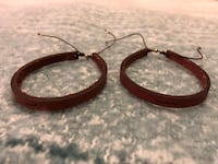 Set of 2 Leather Adjustable Bracelets Centreville, 20120