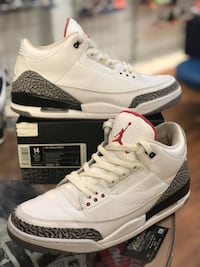 White Cement 3s size 14 Silver Spring, 20902