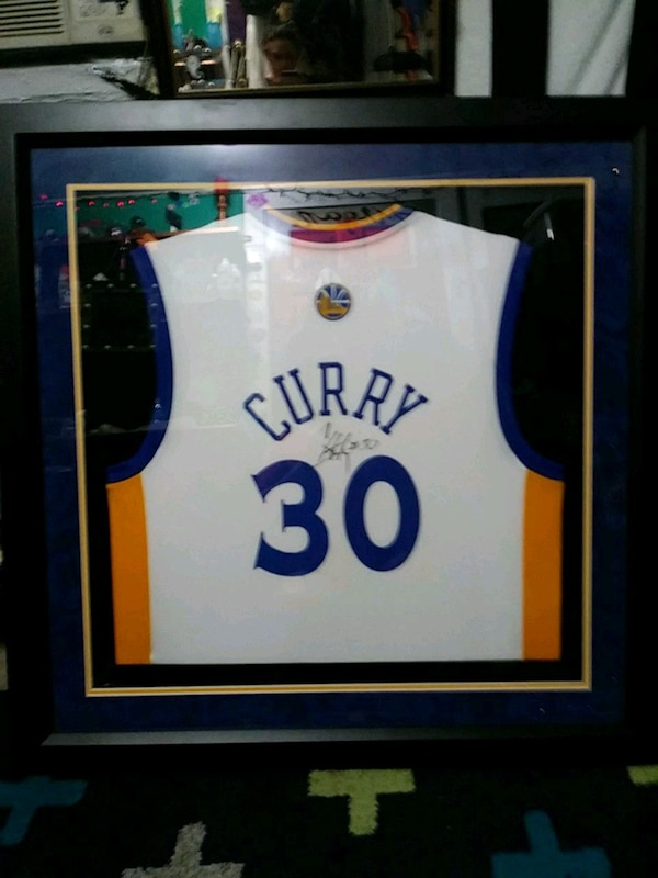 32d8f4e4f9d Used Autographed Steph Curry for sale in Martinez - letgo