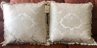 Pair of NEW silk down & feather decorative pillows Palos Hills, 60465