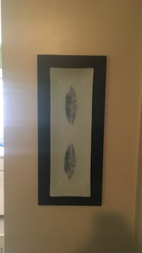 black framed wall leaf decor Spotswood, 08884