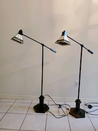 Mission Tiffany style floor lamps