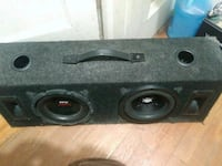 2 8 inch subs in box with tweeters Chesapeake, 23325