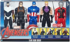 Coffret 5 figurines marvel titan héro séries