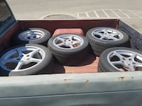 Corvette c4 wheels: 6 total Lemoore, 93245