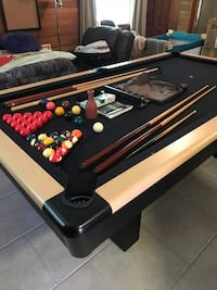 8ft Dufferin Knight Pool Table FREE DELIVERY AND INSTALLATION  Langley, V3A 2Z7