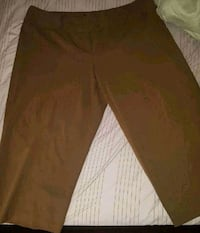 Ashley Stewart Crop Slacks