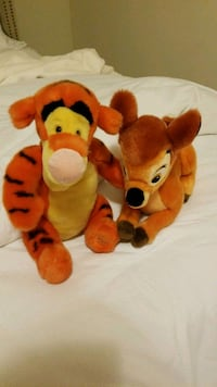 Tiger and Bambi disney stuffed animals  581 km