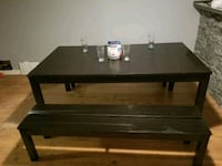 Dinning table with bench Brampton, L6W 2V2