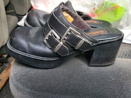 Womans harley slip on shoes