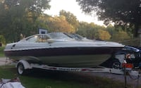 1997 Regal Boat with Shoreland'r trailer null