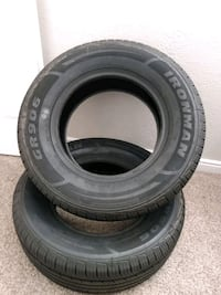 2 Brand New Ironman tires. $75 takes both!