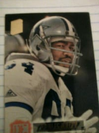 NFL DALLAS COWBOYS LEGEND CHARLES HALEY CARD Washington