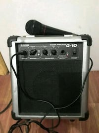 black and gray guitar amplifier Brooklyn, 11220