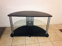 Black n Glass Tv Stand Kissimmee, 34744