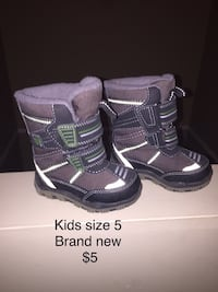 Kids size 5 boots. Brand new  Edmonton, T5Y