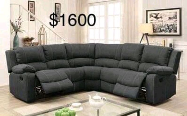 Awesome New Sectional Couch With Recliners Only 50 Down Payment Ibusinesslaw Wood Chair Design Ideas Ibusinesslaworg